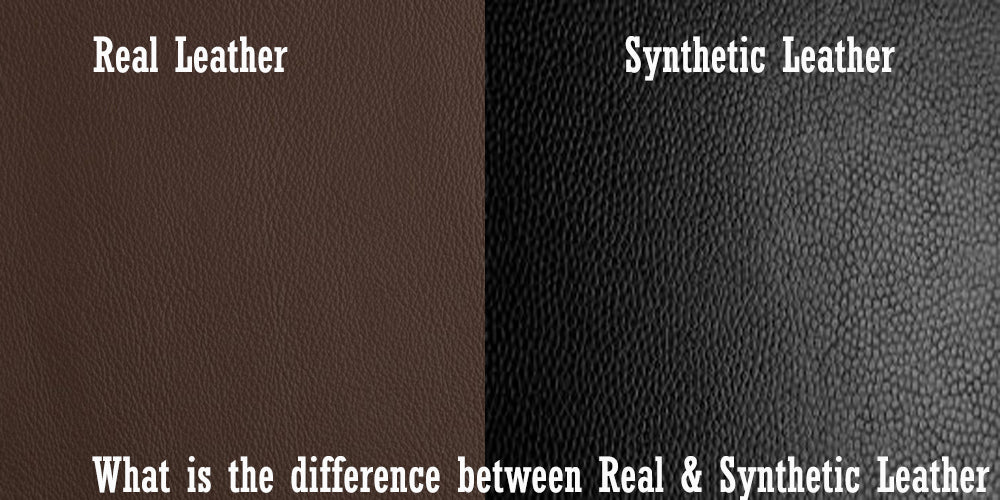What is the difference between Real & Synthetic Leather