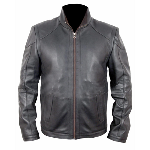 Bruce Willis Red 2 Leather Jacket | Black jack leathers