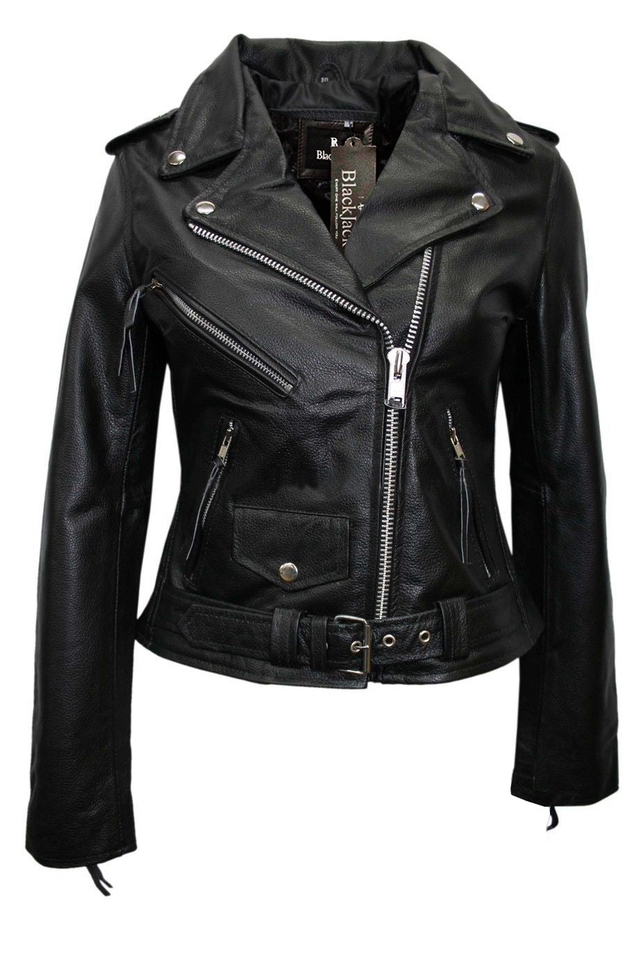 Designer Fashion Soft Leather Jacket|BlackJack Leathers
