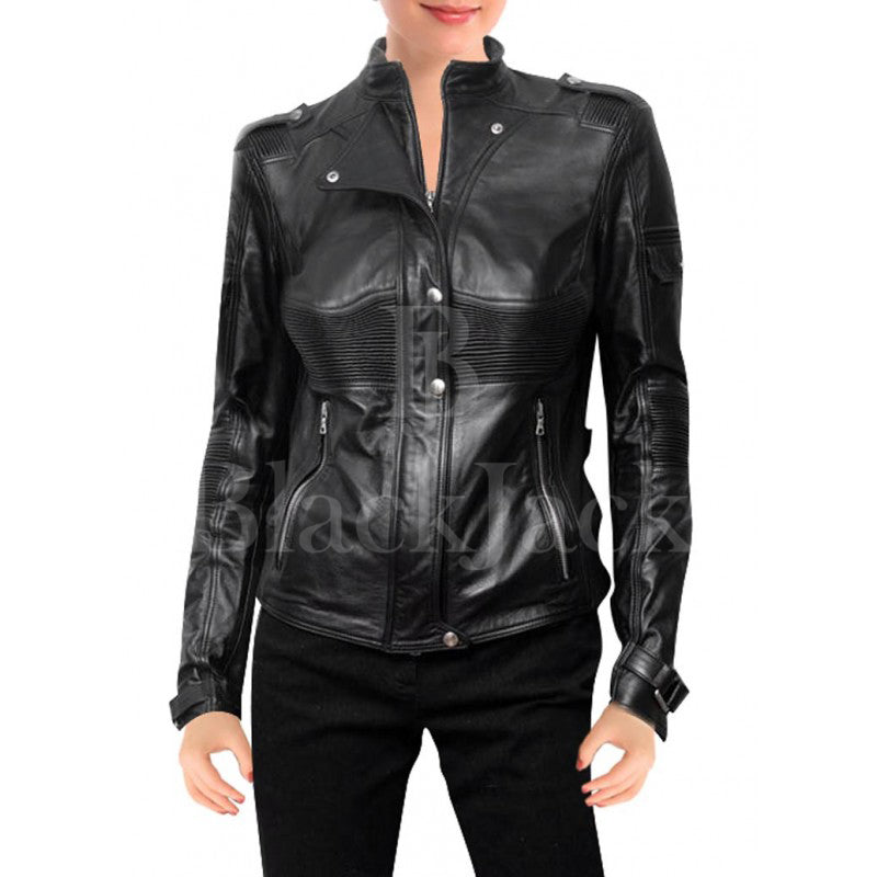 Helen Magnus Sanctuary Leather jacket|BlackJack Leathers