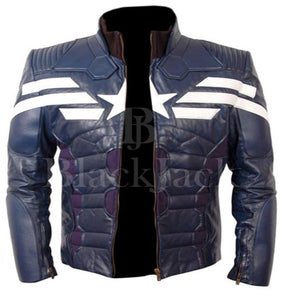 Captain America Jacket | Black Jack Leathers