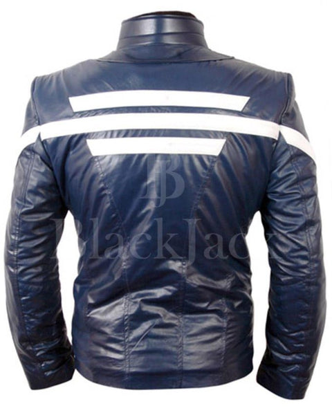 Captain America Jacket|BlackJack Leathers