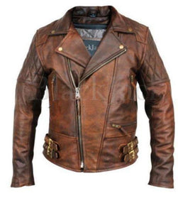 Genuine Cowhide Leather Jacket | Black Jack Leathers