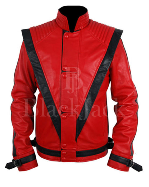 Michael Jackson Thriller Leather Jacket|BlackJack Leathers