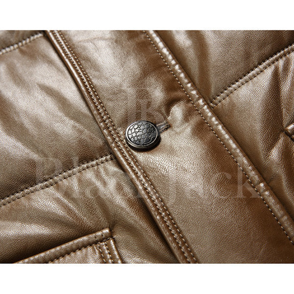 Casual Faux Leather Jacket|BlackJack Leathers