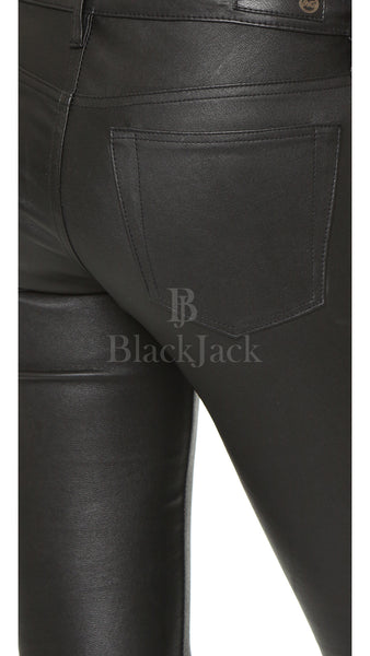 Fit Me Natural Leather Pants