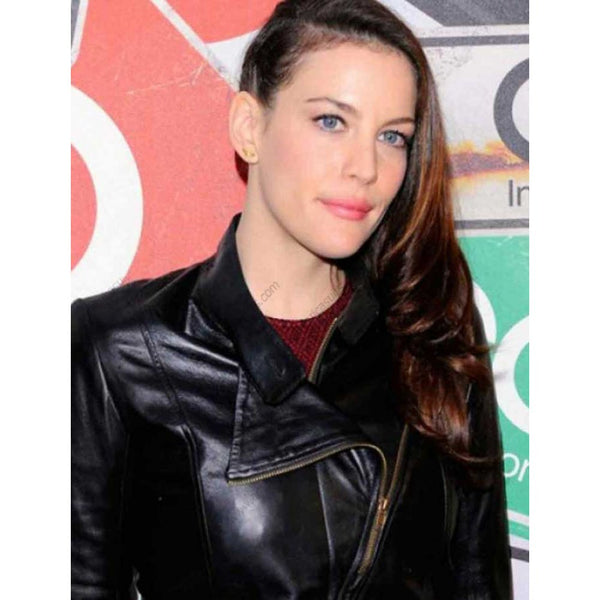 Liv Tyler Leather Jacket|BlackJack Leathers