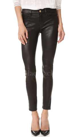 Gala Leather Skinny Pants