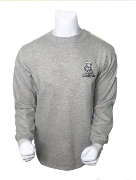 men kings Grey sweatshirt | Black Jack Leathers