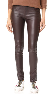Mocca Leather Leggings