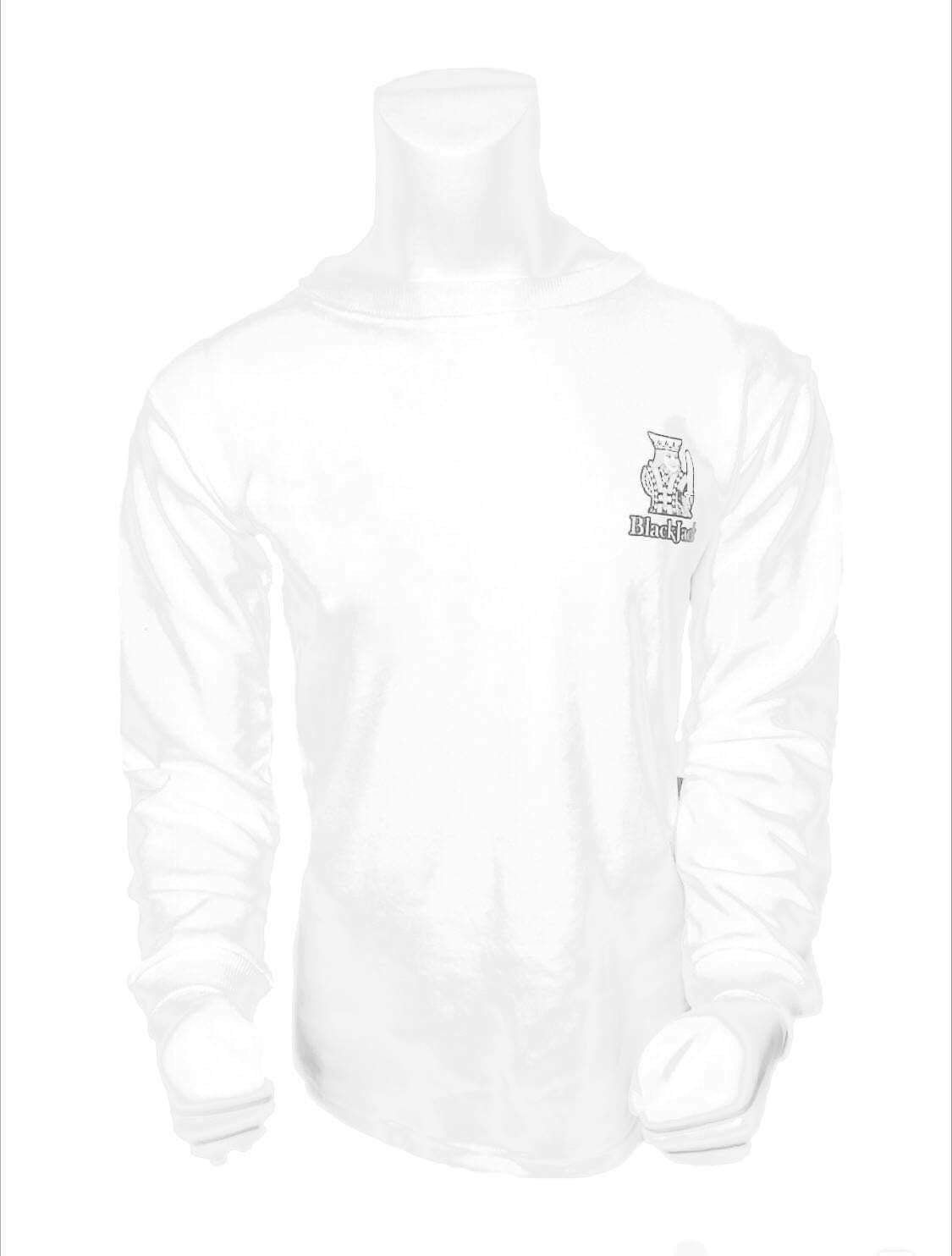 men kings White sweatshirt | Black Jack Leathers