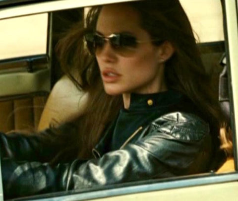 Angelina Jolie Leather Jacket | Wanted Movie