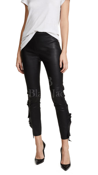 Slay All Day Leather Pants