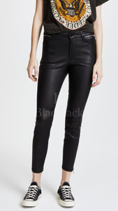 Leather Ankle Zipper Pants|BlackJack Leathers
