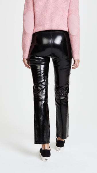 Radiant Leather Pants