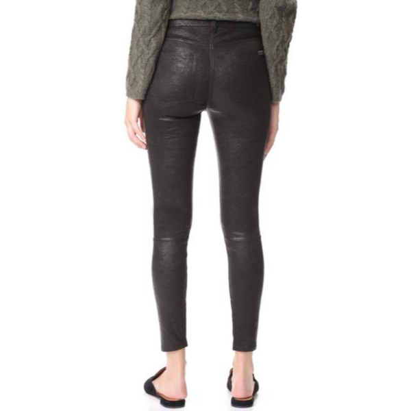 Saggi Skinny Leather Pants | Black jack leathers