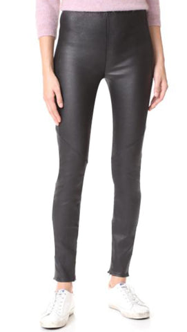 Sexy Soft Leather Zero Legging | Black Jack Leathers