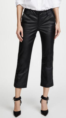 Veronica Beard Leather Pants | Black Jack Leathers