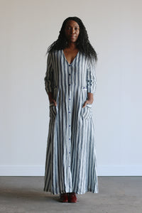 Harper | Linen in Stripe