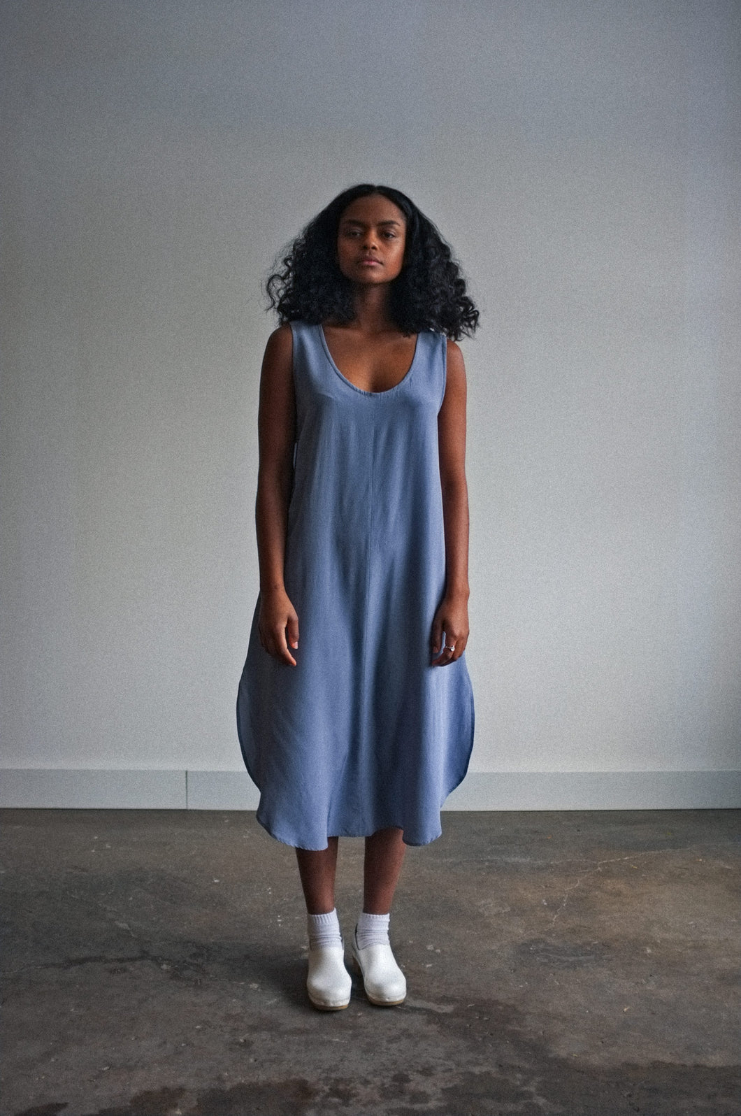 Covil | Silk in Periwinkle | MADE TO ORDER
