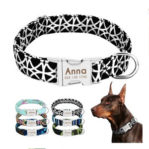 Personalized Engraved Premium Dog Collar