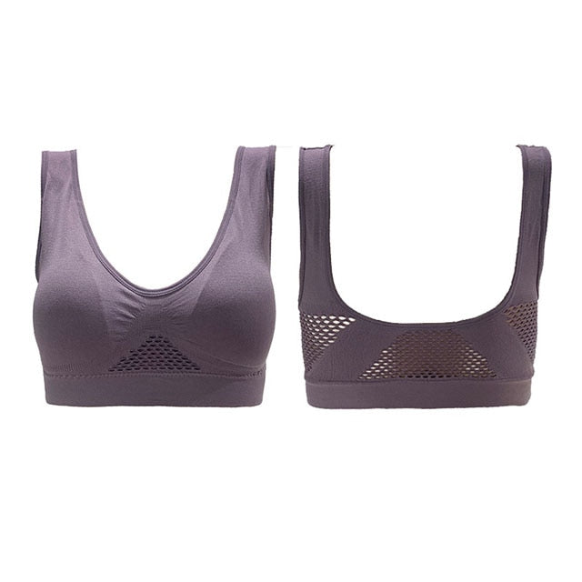 Breathable Bra S-6XL