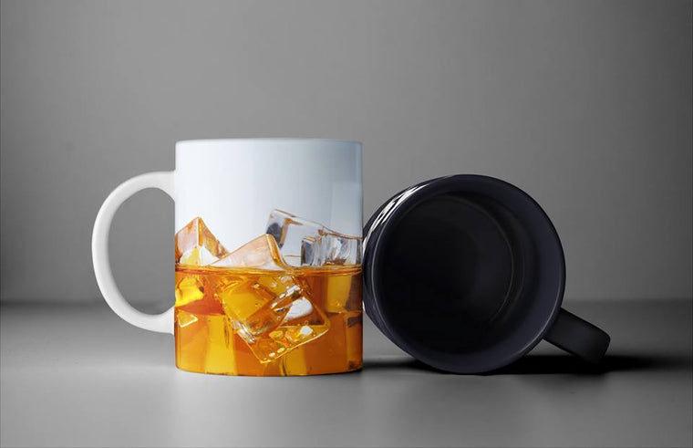 REAL WHISKEY COFFEE MUG