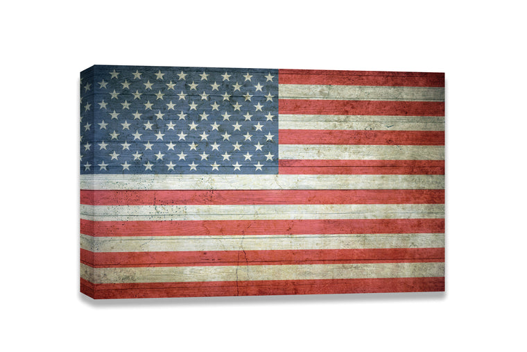 American Flag Canvas