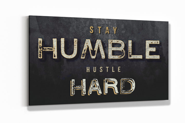 HUMBLE HUSTLE CANVAS