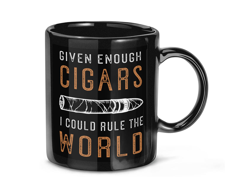 CIGAR LOVER COFFEE MUG