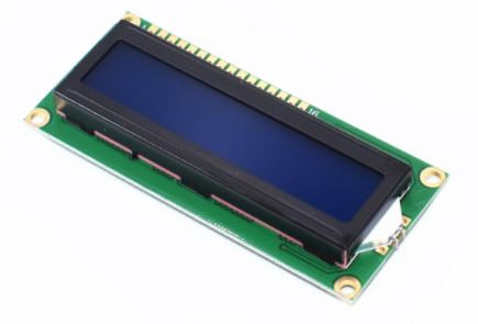 Blue Display I2C 16X2 LCD Module
