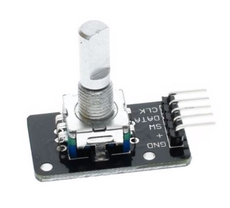 Rotary Encoder with Momentary Pushbutton