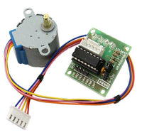Small Stepper Motor 28BYJ-48 With Driver Module ULN2003