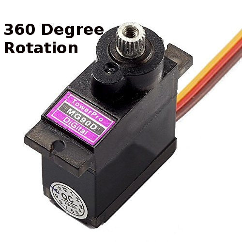 Genuine Tower Pro MG90D 360 Degree Micro Servos