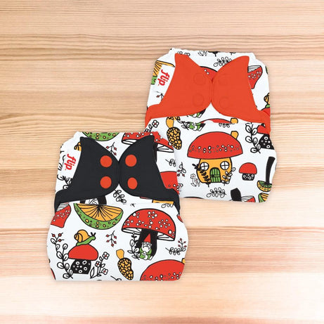 Flip Diaper Cover - The Doodles Collection