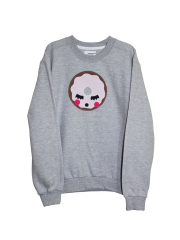 Women's Doughnut Sweatshirt by Not For Ponies