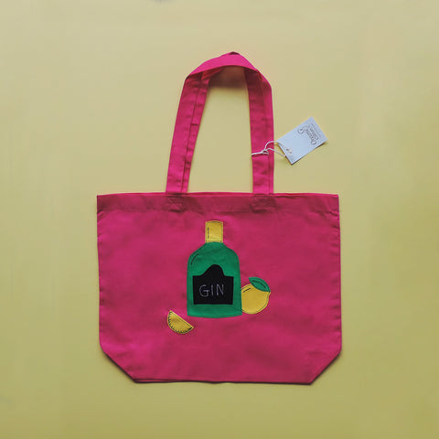 Gin Shopper Bag (Organic)