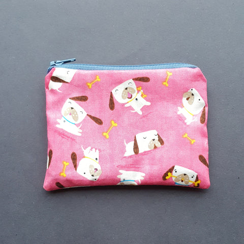 Pug Print Purse by Not For Ponies
