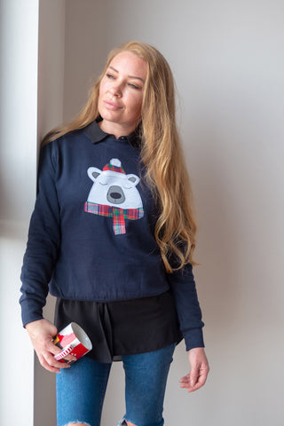 Polar Bear Christmas Sweatshirt