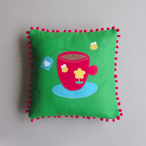 Cuppa Tea Cushion