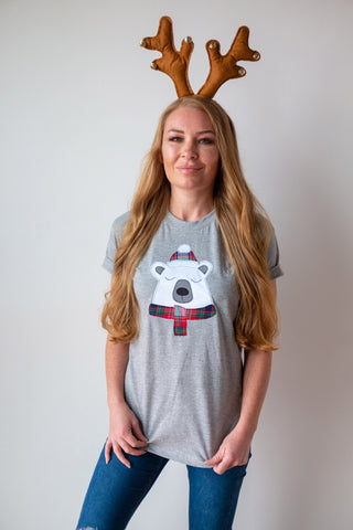 Christmas Polar Bear T-shirt