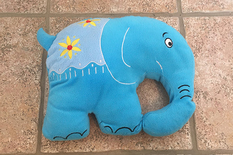 Elephant Teddy Bear (Blue)