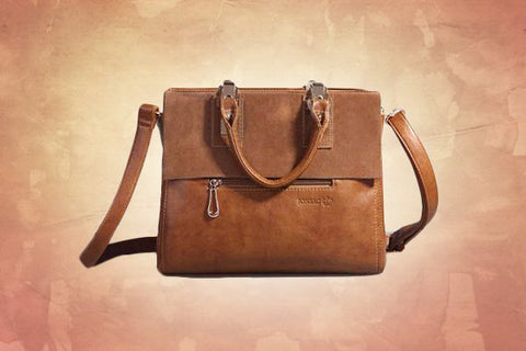Italian Designer Bag (Brown)