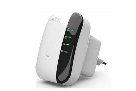 WiFi repeater with router