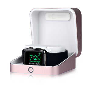 Sumato WatchBox Smart Charging Case with Power Bank for Apple Watch Series 4, 3, 2, 1