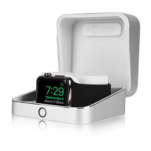 Sumato WatchBox Smart Charging Case with Power Bank for Apple Watch Series 5, 4, 3, 2, 1
