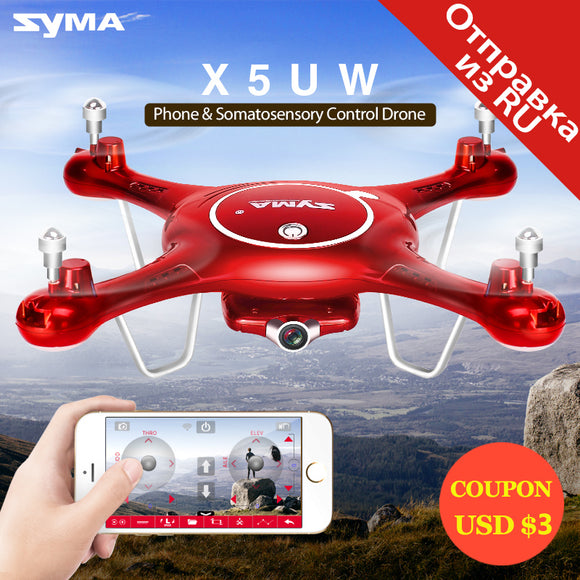Drone with WiFi Camera HD 720P Quadcopter RC Helicopter