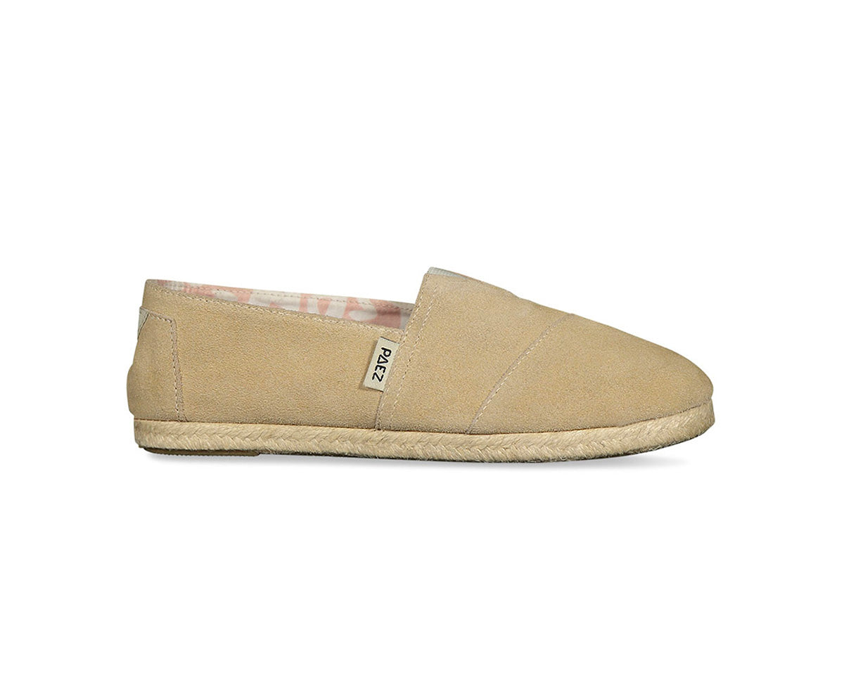CLASSIC RAW COW SUEDE SAND