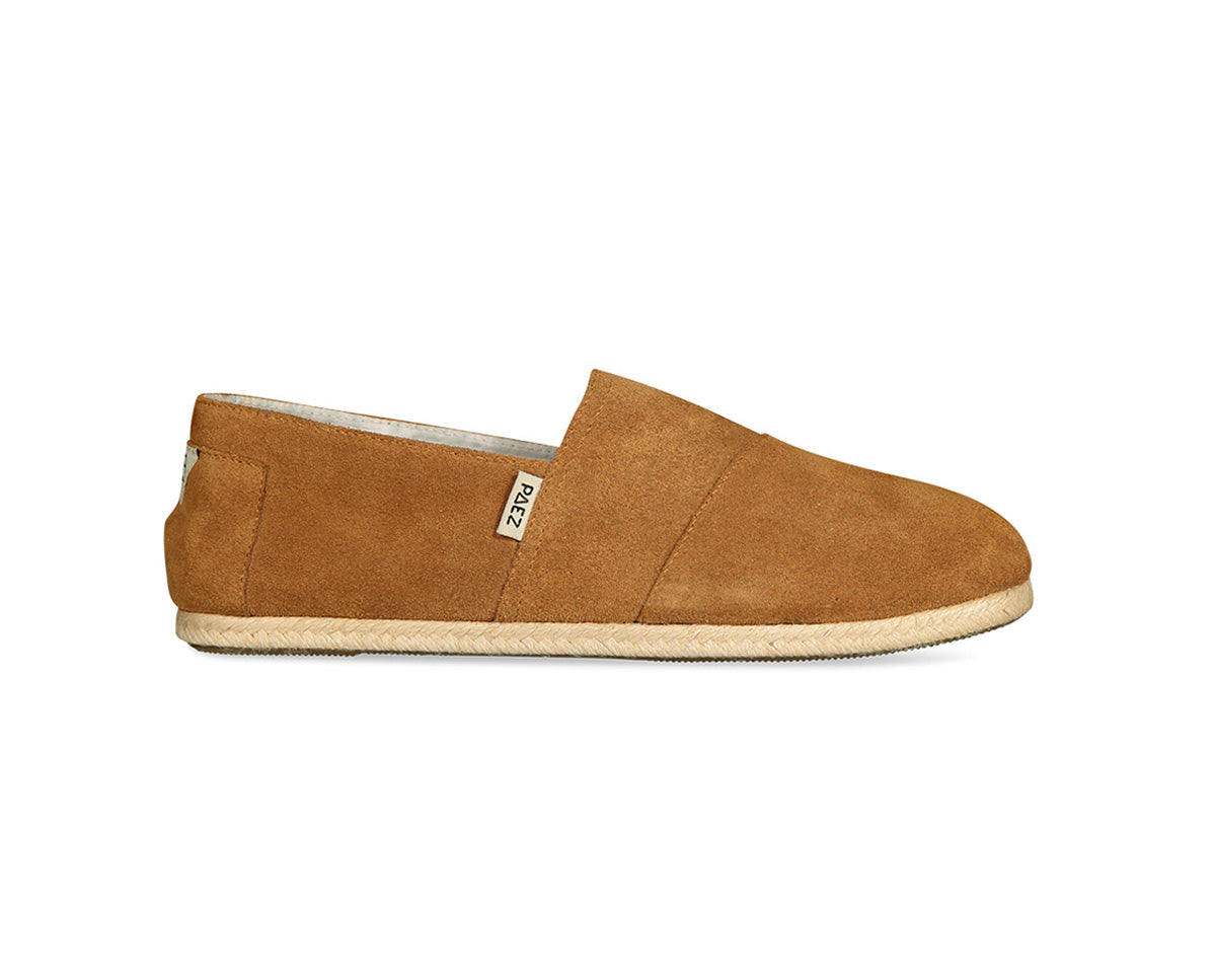 CLASSIC RAW COW SUEDE CAMEL
