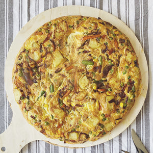 Saturday Storecupboard Indian Frittata (that you can eat any day of the week)